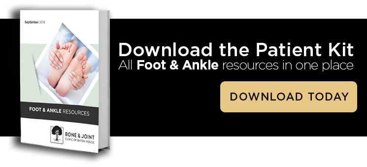 Foot and ankle injury resource