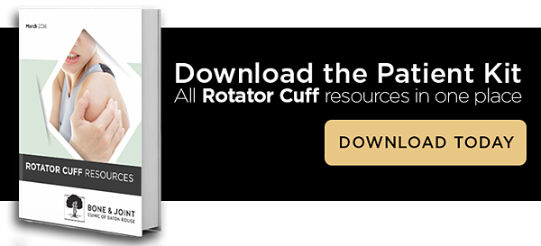 Rotator Cuff Injury Resources for Patient