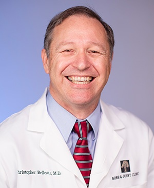 CHRISTOPHER L. BELLEAU, M.D.