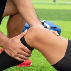 athletic knee injury