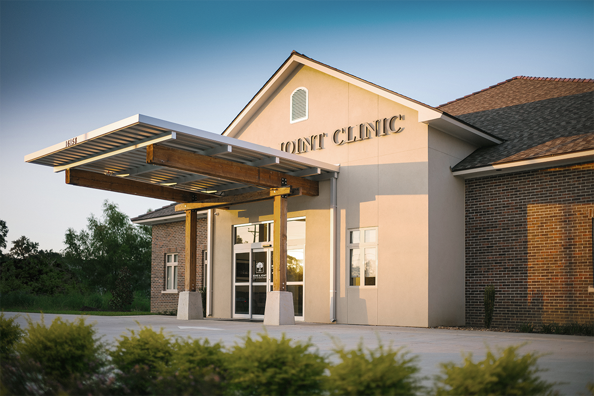 prairieville location of Bone & Joint Clinic