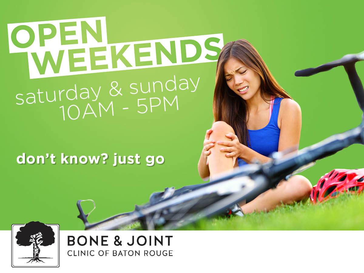 Bone and Joint Clinic of Baton Rouge Opens Weekend Clinic