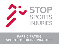 Stop Sports Injuries Badge