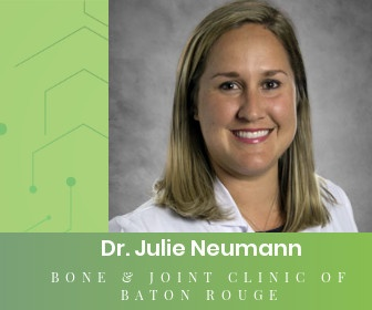 A Dual Fellowship Trained Orthopedic Specialist Returns to Baton Rouge