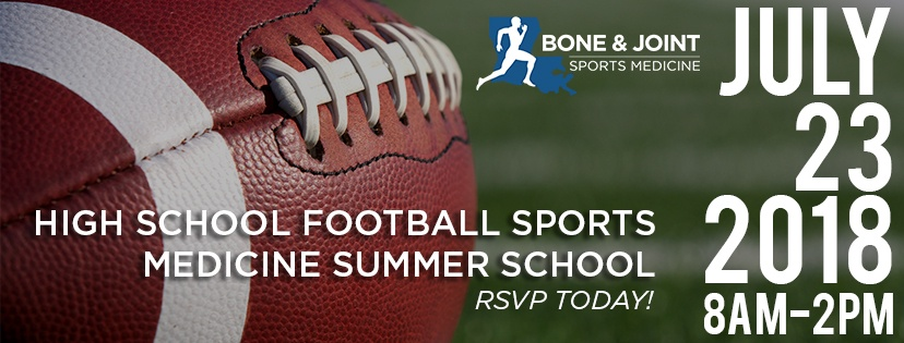 1st Annual Sports Medicine Summer School Event